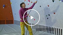 Sicherungstechnik: Seil einziehen