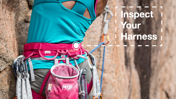 How to inspect your climbing harness