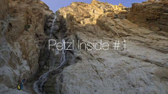 Petzl Inside #1 - Creating an adventure to access your own personal inaccessible
