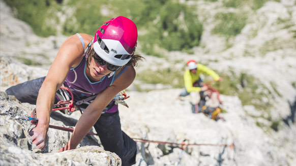 Becoming a multi-pitch climber