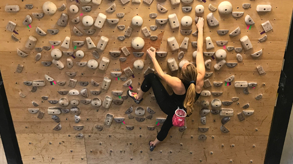 Training tips for climbing from Michaela Kiersch