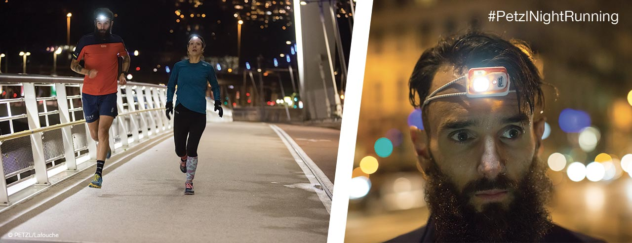 BINDI, Run different This is #PetzlNightRunning - Lyon