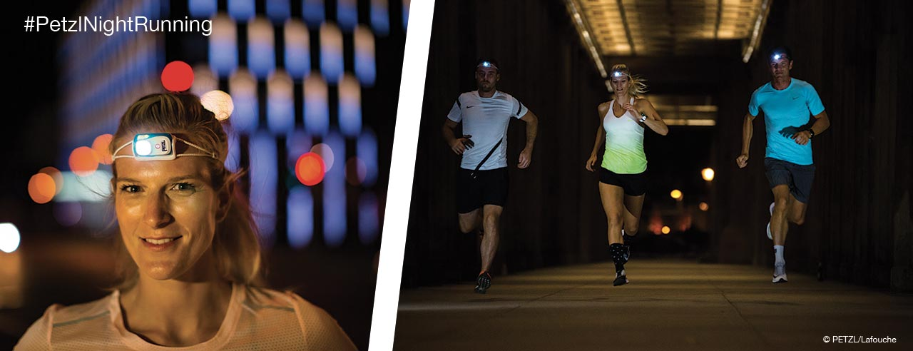 BINDI Run Different - This is #PetzlNightRunning - Berlin