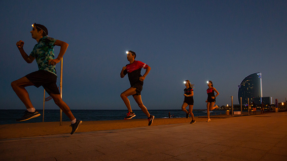 Welcome to Barcelona- This is #Petzl Night Running