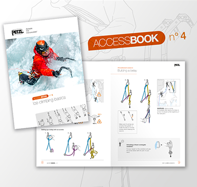 ACCESS BOOK n°4 : Techniques de base en cascade de glace