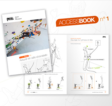 ACCESS BOOK Nr. 1: Sichern in der Kletterhalle