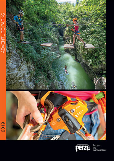 Petzl adventure parks catalog 2019
