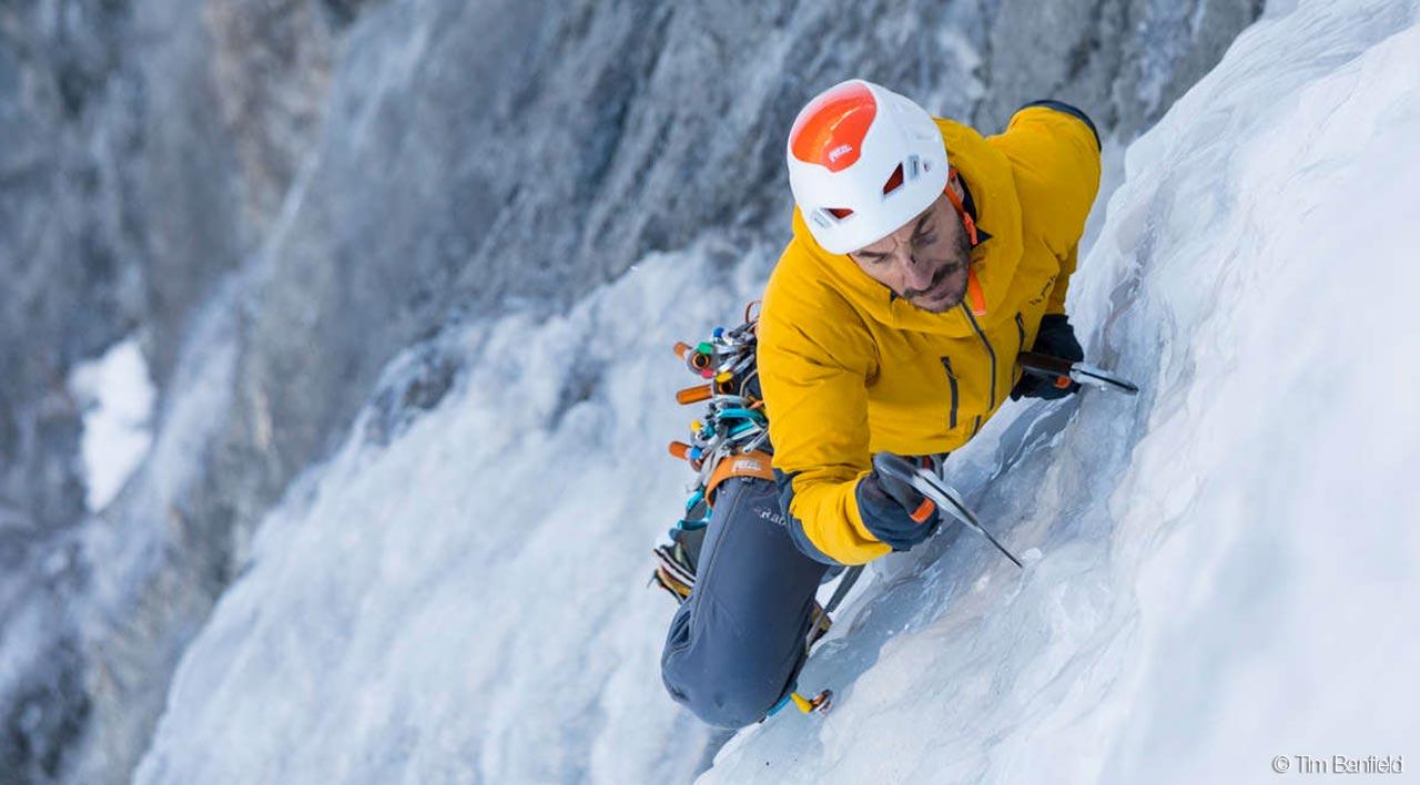 Petzl Klettergurt Xl : Petzl nachrichten die richtige technik und taktik beim eisklettern