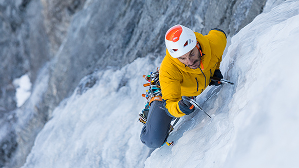 Tips and techniques for ice climbing
