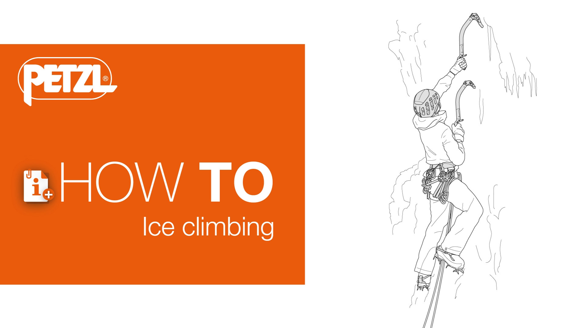 Video screenshot:How-to ice climb