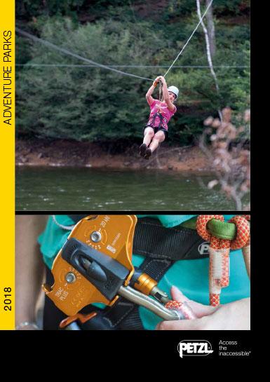 Petzl adventure parks catalog 2018