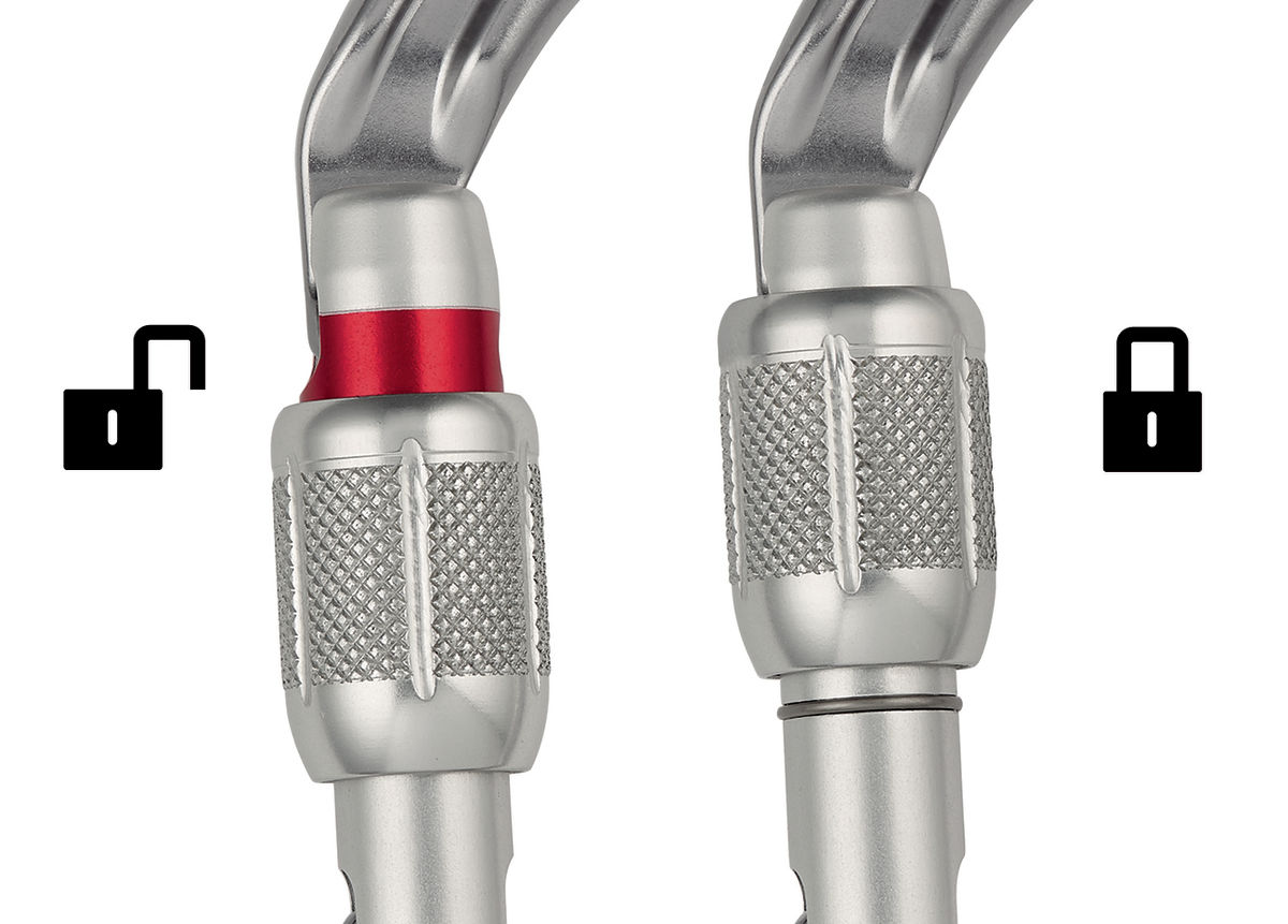 Petzl OK Triact-lock Carabiner//karabiner 4pc
