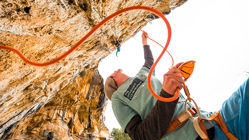 Characteristics of the world's best belayer