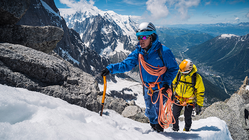 Tech tips for mountaineering