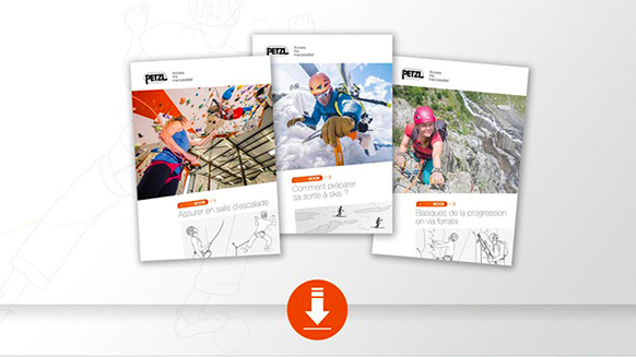 Tech tip guides by Petzl
