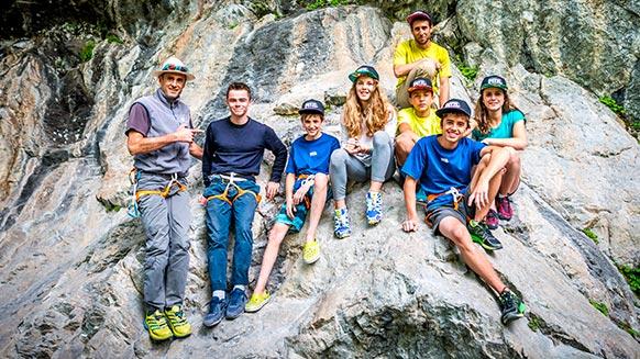 Team Jeunes : la vie autour de l'escalade