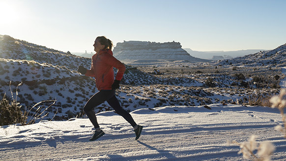 How to prepare for a winter trail run