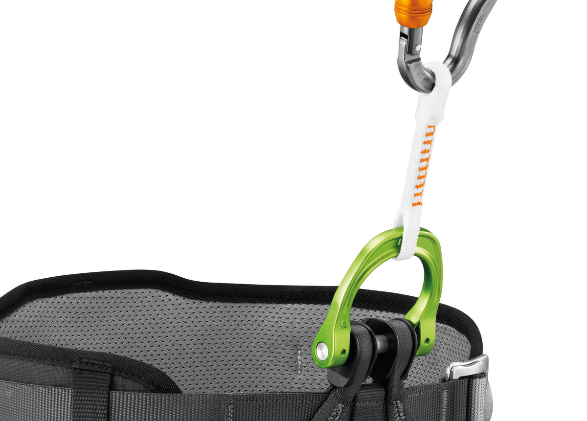 Cutaway sling for CANYON GUIDE harness