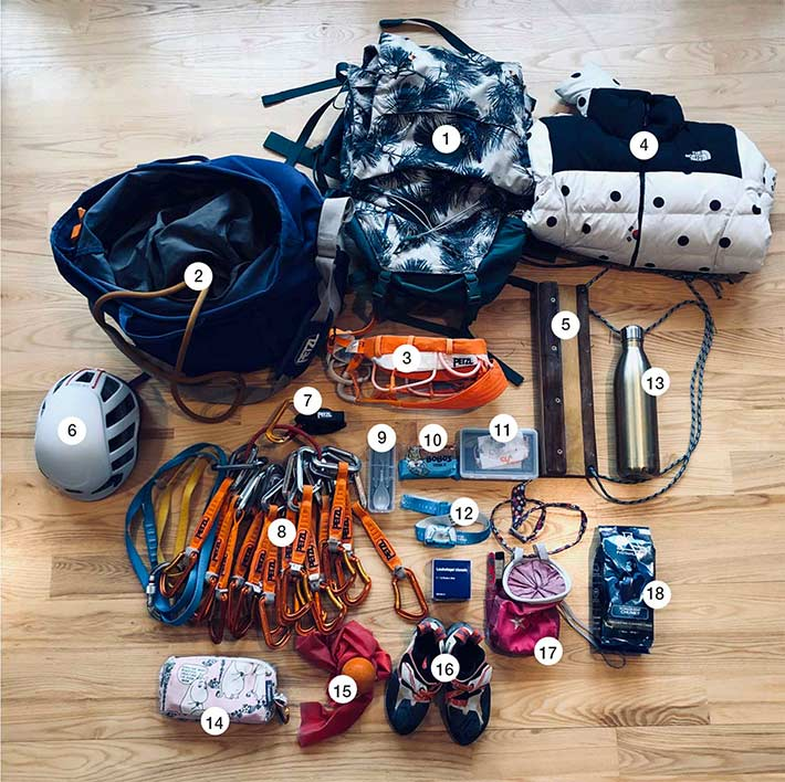 News - Petzl What's in Margo Hayes' pack? - Petzl Other