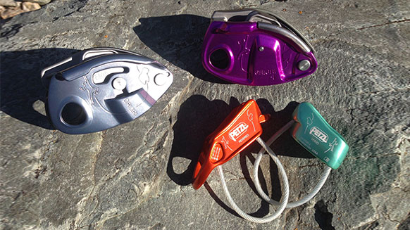 How to choose and use the right belay device