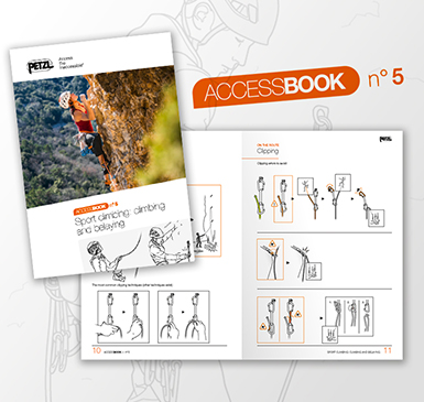 ACCESS BOOK n.5 : Assicurare e arrampicare in falesia