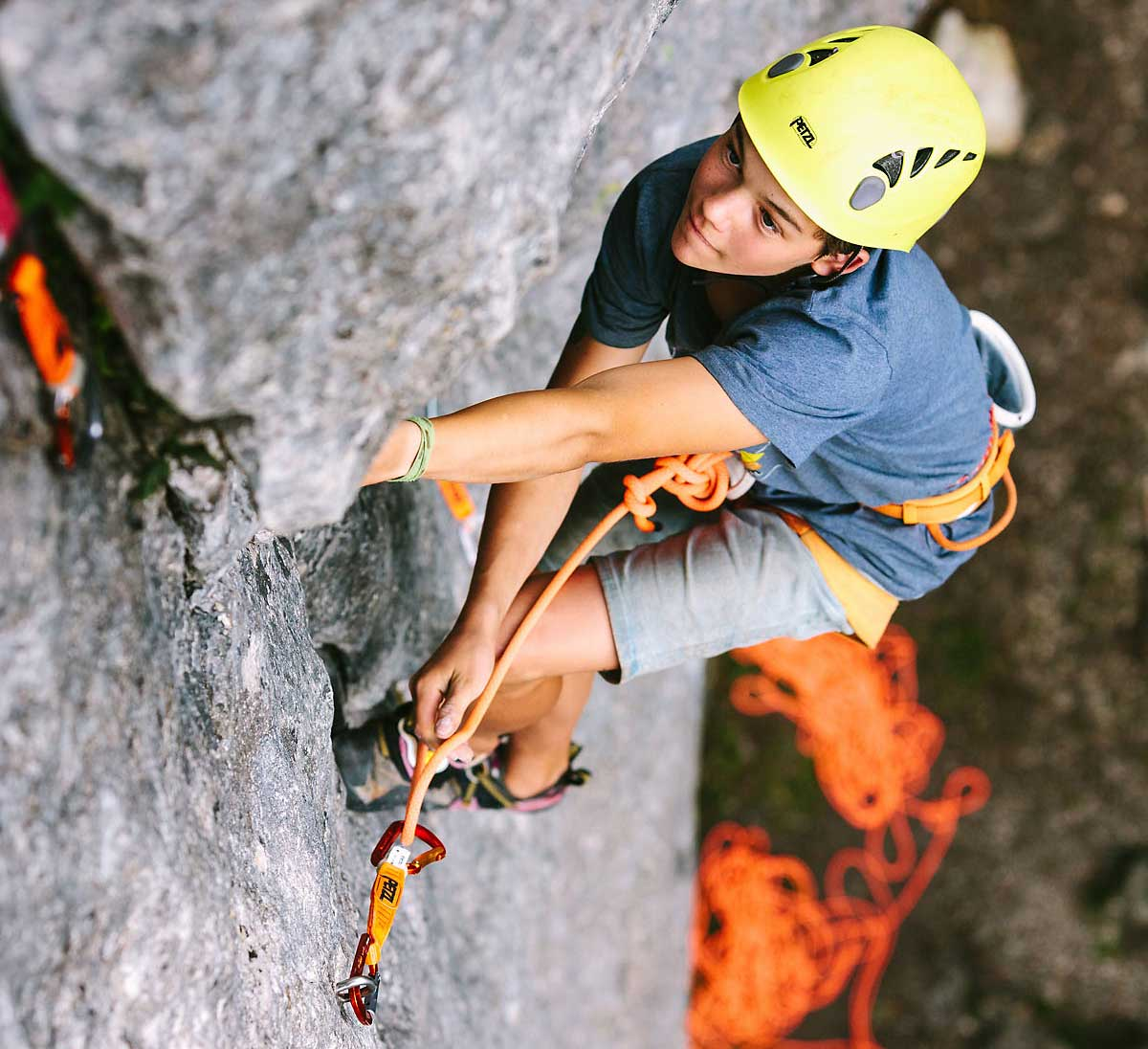 Petzl Junior Rock Camp Deutschland Frankenjura 2019