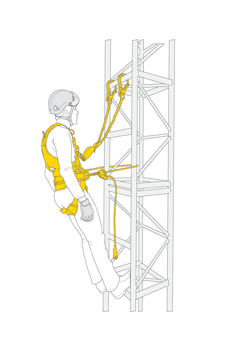 FALL ARREST AND WORK POSITIONING KIT