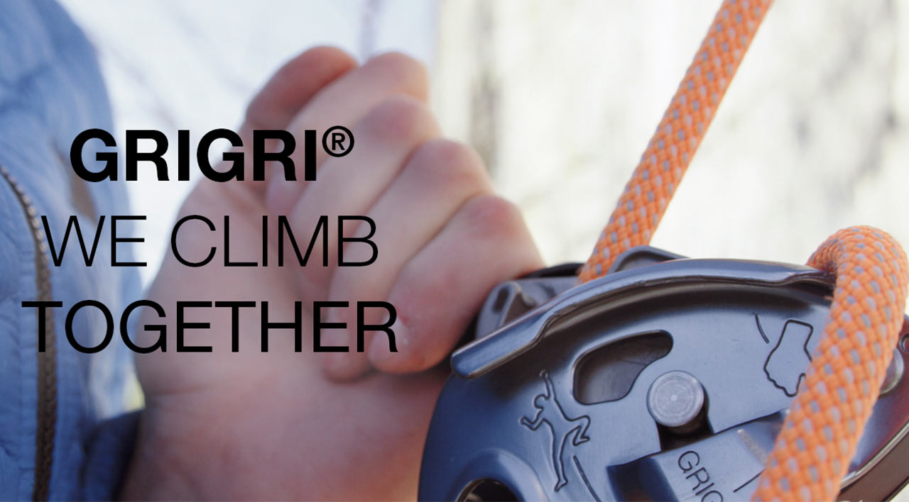 Capture d'écran de la vidéo :GRIGRI® – We climb together