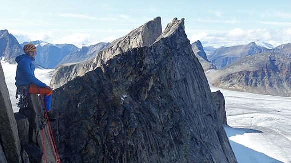 Das Herren-Expeditionsteam des SAC auf Baffin Island