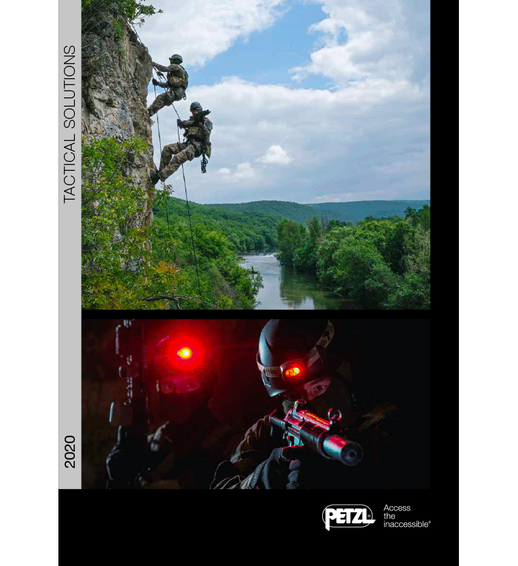 Petzl catalogue intervention 2020