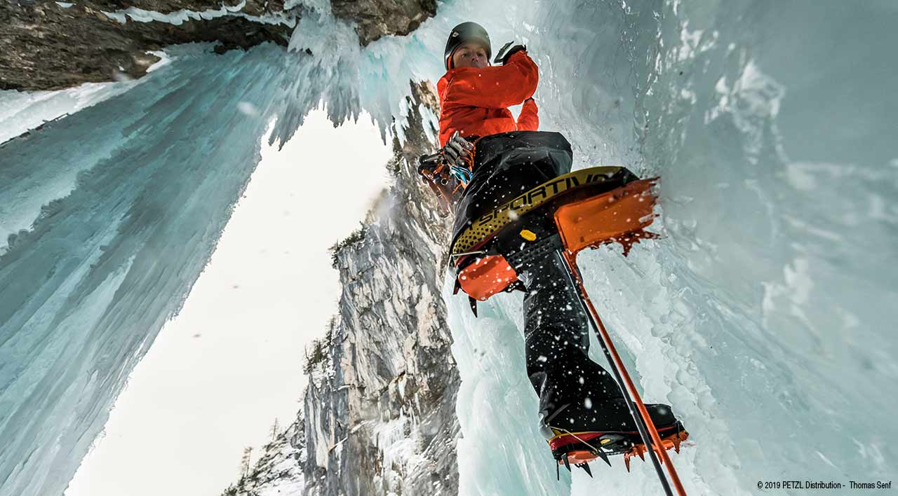© 2019 PETZL Distribution -  Thomas Senf - ice climbing