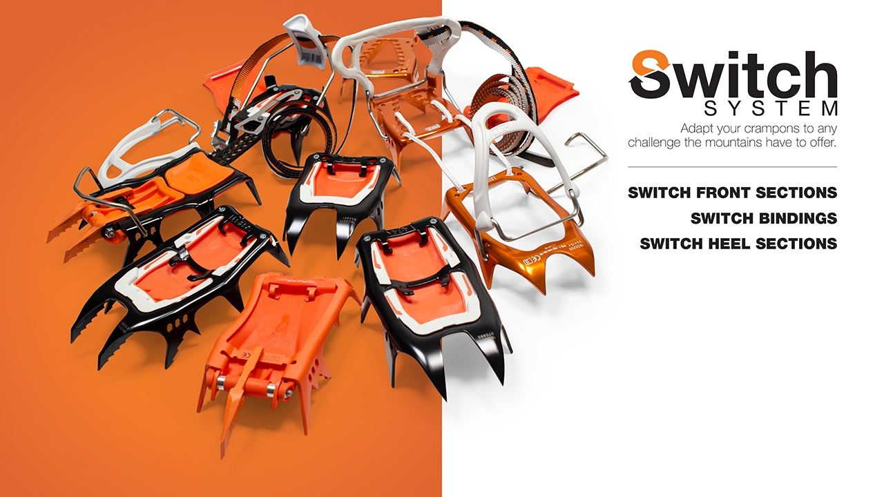 THE SWITCH SYSTEM WILL CHANGE HOW YOU BUY CRAMPONS