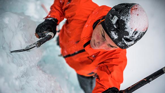 El hielo, fugaz y sublime