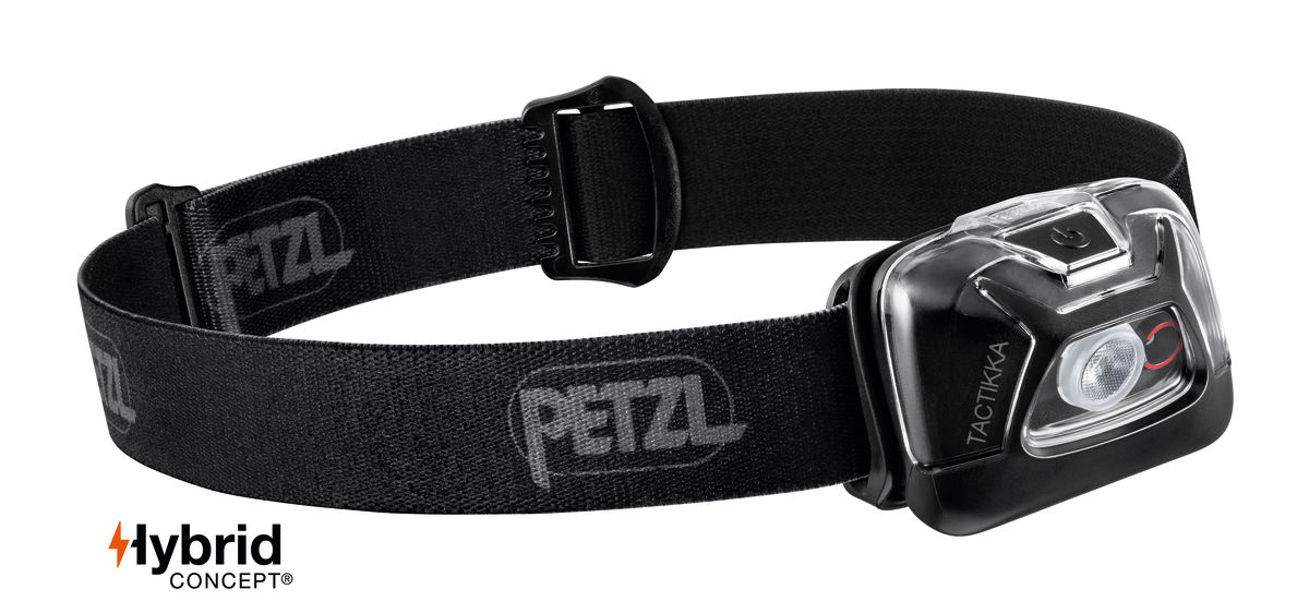 200lm Headlamp PETZL TIKKA black