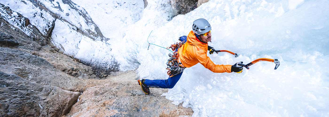 A journey deep into India to ice climb