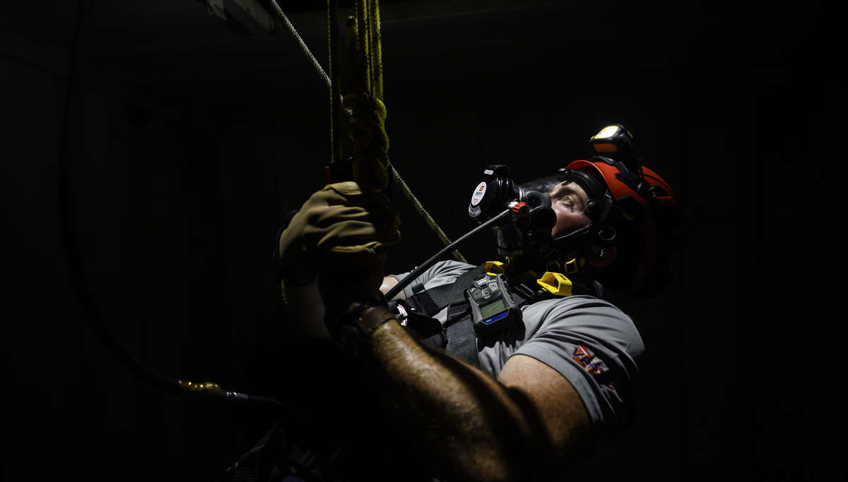 Confined Space Rescue with the MAESTRO
