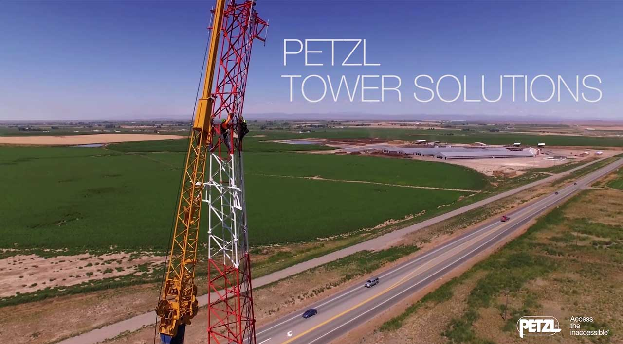 Video screenshot:Petzl Tower Solutions