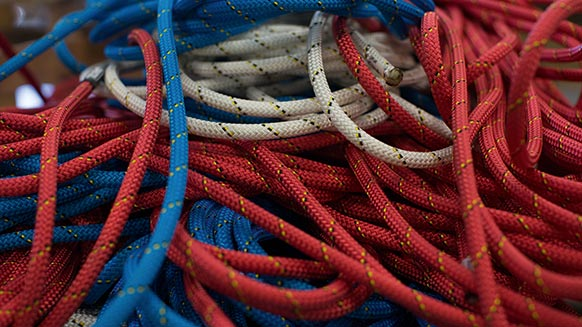 Request for inspection of Petzl low-stretch kernmantle ropes