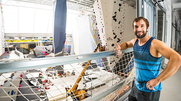 Chris Sharma: From Pro Climber to Gym Owner