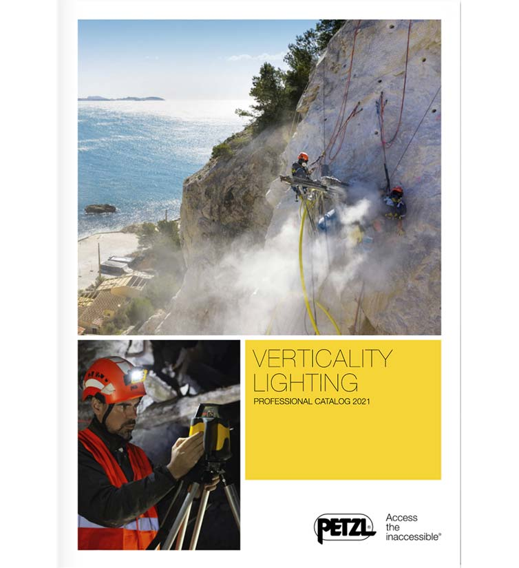 Petzl catalogue professionnel 2021