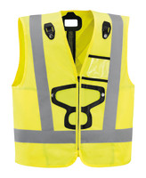 HI-VIZ vest for NEWTON harnesses