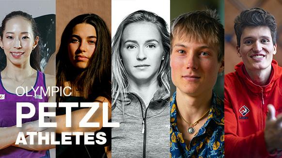¿Quiénes son los atletas Petzl presentes en las Olimpiadas de Tokio?