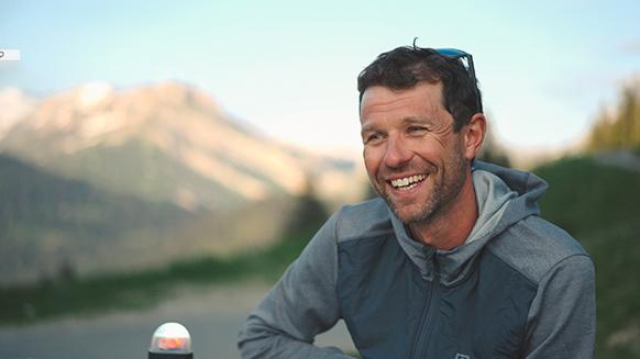 Capture d'écran de la vidéo :François D'Haene au coeur de l'UTMB