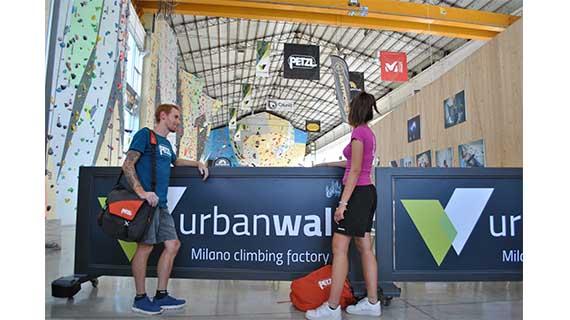 Petzl e Urban Wall