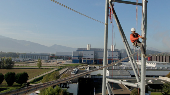 Petzl RopeTrip 2012 - Welcome to V.axess, PPE checking and training