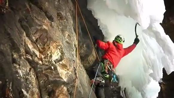 Capture d'écran de la vidéo :Québec Ice trip