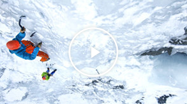 Video: The basics of ice climbing: ice screw placement, belays, v-threads