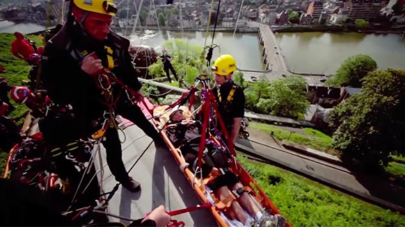 GrimpDay 2012 - International technical rope rescue competition