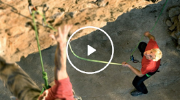 Video: Belaying with a GRIGRI