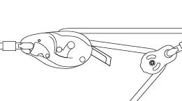 Tirolina de cuerda con RIG